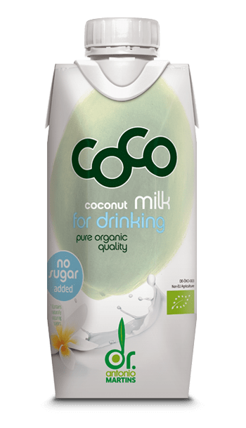 Dr. Antonio Martins Coco Milk for Drinking PURE